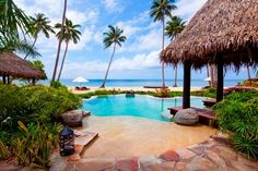 A private island paradise located near Taveuni in the Fiji Islands, Laucala Island, has been transformed into the ultimate oasis of escape & luxury. Places Around The World, Around The Worlds, Villa Pool, Spa Hotel, Winter Beach, Fiji Islands, Leading Hotels, Adventure Of The Seas, Romantic Beach