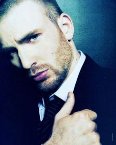 There is something so sexy about Chris Evans extremely hot but vulnerable almost little boy like! The perfect man!