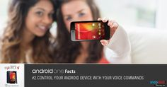 Android One Fact #2. Control your Android Device with your voice commands Get it here: http://bit.ly/-SparkleV