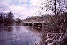 Center Road-Tittabawassee River Bridge in Saginaw County, Michigan.