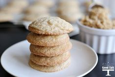 These Brown Sugar Cookies taste like your favorite chocolate chip cookies without the chocolate chips. These cookies have the perfect crispy edges with a soft and chewy center. Brown Sugar Cookies, Chocolate Chip Cookies, Chocolate Chips, Waffle Recipes, Cookie Recipes, Corn Recipes, Dallas Food, Fluffy Waffles, Silicone Baking Sheet