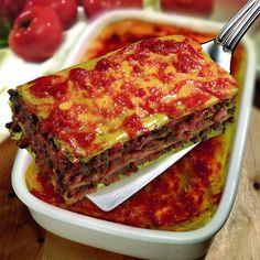 Lasagna cu vită şi usturoi