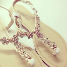 Perfect for my wedding ...When I don't wear heels cause I hate them!