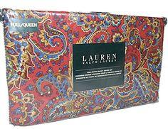 Ralph Lauren Damask Paisley 3pc Full Queen Duvet Cover Set Red Burgundy Yellow Blue Teal Boho Style Bedding RALPH LAUREN http://www.amazon.com/dp/B015RNLG9I/ref=cm_sw_r_pi_dp_k3Y0wb0W0FS48