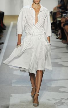 the ultimate shirt dress - DVF S/S 2012