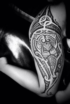 Tribal Lion Tattoo, everything about tribal tattoos Girl Tribal Tattoos, Tribal Lion Tattoo, Polynesian Tribal Tattoos, Lion Head Tattoos, Samoan Tattoo, Hot Tattoos, Forearm Tattoos, Body Art Tattoos, Girl Tattoos