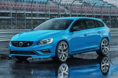 Coming here June 2014 - Volvo V60 Polestar; 350 hp turbo inline 6, Haldex four-wheel-drive, paddle shifter, 20 inch wheels
