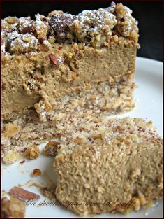Hazelnut coffee desserts - We don't mess around with the food - Cuisine -You can find Cuisine and more on our website. Other Recipes, Sweet Recipes, Cake Recipes, Dessert Recipes, No Cook Desserts, Mini Desserts, Quinoa Lunch Recipes, Italian Cookie Recipes, Dacquoise