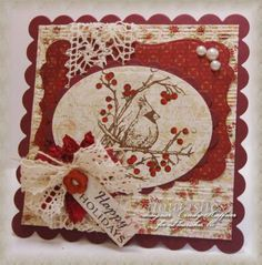 CHRISTMAS by cindy_haffner red and creams