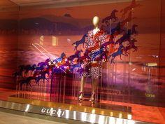 LK by Lincoln Keung: GUCCI  Window Display -  THE LANDMARK in Hong Kong