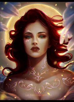 The Goddess by LAS-T on deviantART