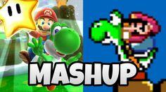 Dash Yoshi Star - Mario Music Mashup 4