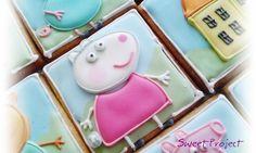 INSPIRACJE URODZINOWE- PEPPA - Mamine Skarby by Magda Jasińska Peppa Pig, Sugar, Cookies, Desserts, Food, Biscuits, Meal, Deserts, Essen