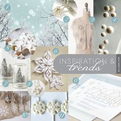 White Winter Wedding Bridal Shower With The Frosted Petticoat Snowflake Lollipops