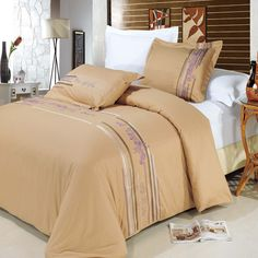 Cecilia Egyptian cotton Embroidered Duvet Cover Set $99.99 www.scotts-sales.com