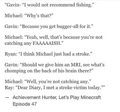 Gavin, Ray, Michael, and Ryan mc lets play episode 47. Stroke victim fish