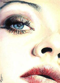 .   #Pencil_drawing #Realistic   © #Christina_Papagianni (Greece)