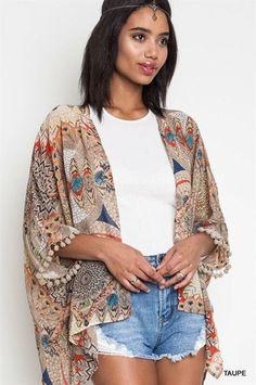 a1646701e04e55 Rust Off The Shoulder Sweater. Too Sassy Boutique · Tops! Native Pom Kimono   27.00 Boho Dress