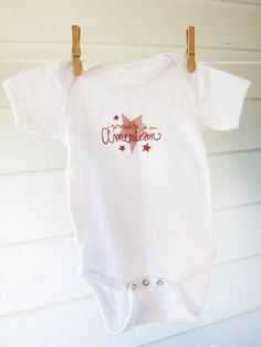 July 4 Onesie: Free printable by thesweetestoccasion as designed by Morgan Young #July_4 #Onesie #Morgan_Young #thesweetestoccasion