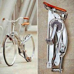 Spokeless foldup bicycle