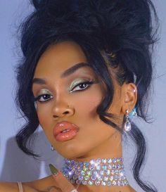 Shop bras, panties, robes, bodysuits and sleep wear. Makeup Eye Looks, Cute Makeup, Glam Makeup, Gorgeous Makeup, Makeup Tips, Beauty Makeup, Hair Makeup, Hair Beauty, Makeup Ideas