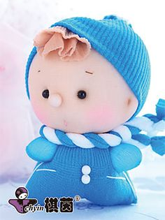 All Bundled Up  Candy Babies Stuffed Toy Kit by ClassyThreadsKits, $12.00