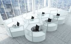 Modular Office Furniture, Modern Workstations, Cool Cubicles, Benching Systems