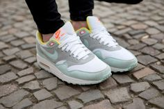 The Air Max pretty in pastels. #style #shoes #nike