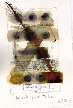 Michel Lefebvre I love this. Mixed Media Collage, Collage Art, Soul Collage, Book Art, Collages, Art Journal Pages, Art Journals, Bee Creative, Newspaper Art