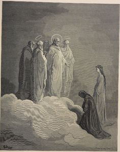 26.4 (Paradise) St. John: St. John examines Dante on love  Creator: Doré, Gustave  Date: c.1868  Medium: engraving