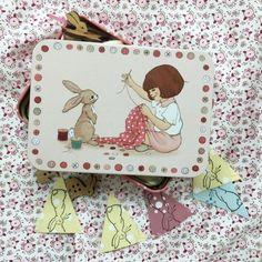 Bellea and Boo Sewing Tin