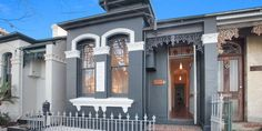 Photo of a rendered brick house exterior from real Australian home - House Facade photo 525421 Rendered Houses, Character Home, Australian Homes, Facade House, Facades, Victorian Homes, House Colors, Brick, New Homes