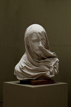 Veiled woman (Anna Rubincam, 19th century).