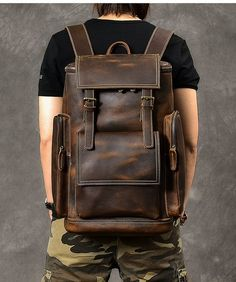 Leather Backpack For Men, Leather Laptop Bag, Leather Briefcase, Laptop Bags, Cowhide Leather, Leather Men, Laptop Shoulder Bag, Shoulder Bags, Backpack Bags