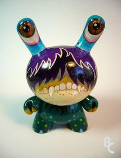 Pop Eyes custom Dunny by ~bryancollins on deviantART