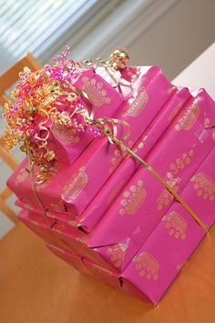 Pink Gifts Creative Gift Wring Unique Ideas