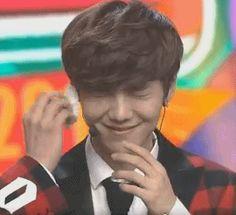 Luhan (gif) I love when he keeps one eye closed, it's so cute :3