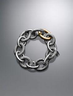 Extra Large Oval Link Bracelet - DY