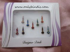 Excellent Bindis with Rhinestone & Tiny by BindiStoreUSACANADA Bindi, Make Your Own, How Are You Feeling, Design, Diy Crafts, Design Comics