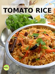 Nasi tomato (tomato rice) is the Malaysian version of the tomato rice originated from India. The rice is heavily scented with spices like cloves, cardamom, cinnamon, and star anise. It is an easy recipe with rice cooker. Rice Cooker Recipes, Rice Recipes, Vegetarian Recipes, Cooking Recipes, Tomato Rice Cooker Recipe, Tai Food Recipes, Armenian Recipes, Indian Food Recipes, Asian Recipes