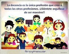 Soy orgullosamente #maestra. | Soy Preescolar http://ift.tt/1fDB2Bd