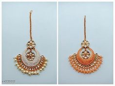 Maangtika Twinkling Charming Maangtika Base Metal: Alloy Plating: Gold Plated Stone Type: Artificial Stones & Beads Type: Chaand Tika Multipack: 1 Sizes: Free Size Country of Origin: India Sizes Available: Free Size   Catalog Rating: ★4.4 (471)  Catalog Name: Twinkling Charming Maangtika CatalogID_1014336 C77-SC1100 Code: 251-6379333-972