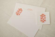LKP Interlocking Monogram Design  Savannah Designer, Emily McCarthy: Custom Monogram Design