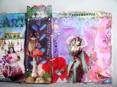 art journal mixed media page 14 | Flickr - Photo Sharing!