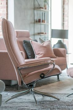 City Low Back Reclining Chair By Stressless In Paloma Black | Stressless |  Pinterest | Leather Chairs, Low Back And Cities
