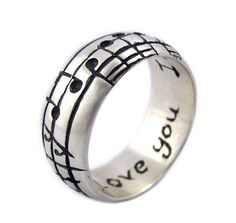 Hey, I found this really awesome Etsy listing at https://www.etsy.com/listing/60706837/personalized-music-ring-custom-sterling