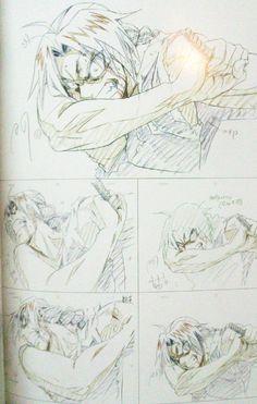 "Some beautiful Fullmetal Alchemist: Brotherhood Key Animation Cuts(Part Part part part 2 ) "" KA Cuts : Bakemonogatari & SnK "" Animation Storyboard, Animation Reference, Art Reference, Fullmetal Alchemist Edward, Fullmetal Alchemist Brotherhood, Manga Art, Manga Anime, Anime Art, Art Sketches"