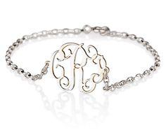 Monogram Bracelet, $32.95