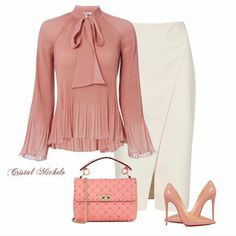 Love the blouse- the color, the style