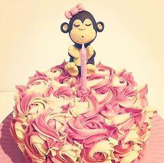 Baby Monkey Cake - Buttercream Aurora Sleeping Beauty, Disney Princess, Disney Characters, Cake, Kids, Young Children, Boys, Kuchen, Children